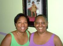 Beverly Franklin and Gail Williams